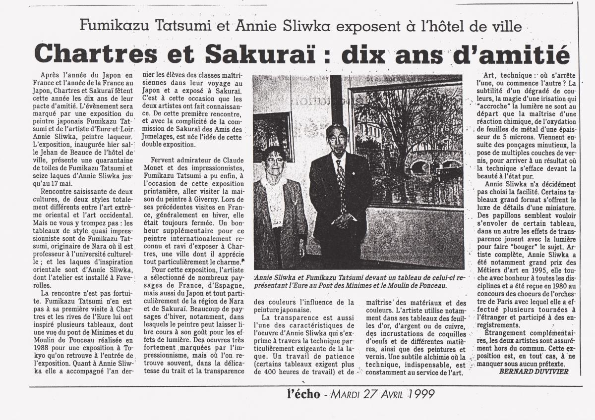 10 ans avec Chartres