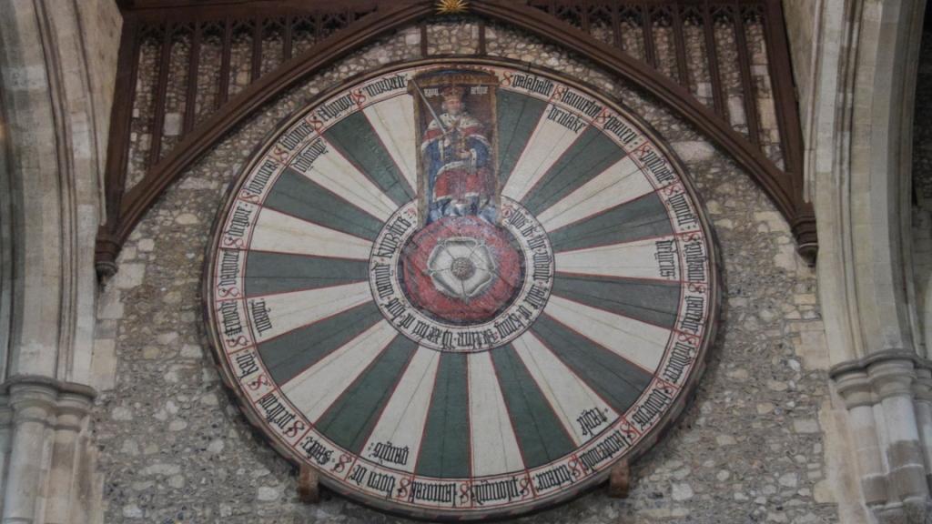 "La ""Fameuse"" Table ronde du Roi Arthur"