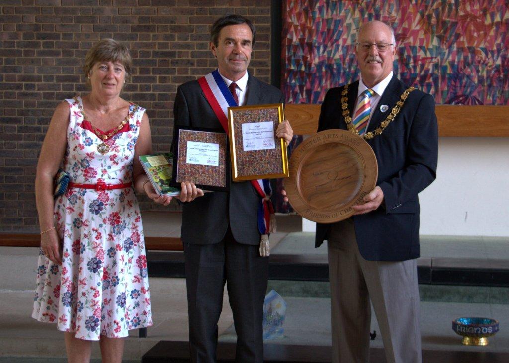Patrick Geroudet, Margaret et Peter Evans