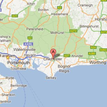 Localisation de Chichester