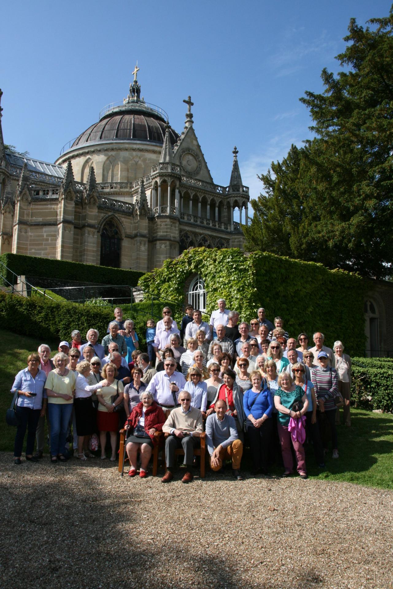 Echange 2016 chapelle royale
